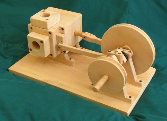 Wooden air engine 1 for Wooden locomotive plans