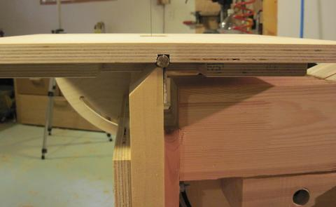 Building The Bandsaw Table