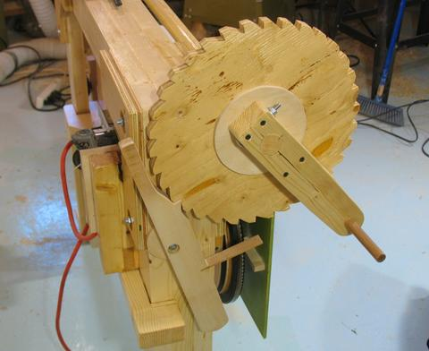 Building the hobby sawmill