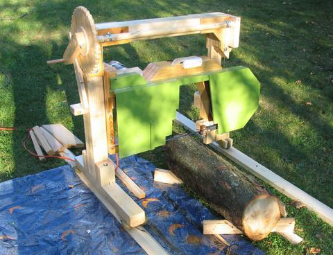 Ciptarekamesin Backyard Lumber Milling 14 Quot Bandsaw