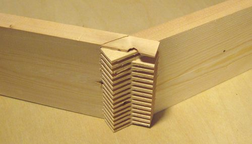 wood angle joints