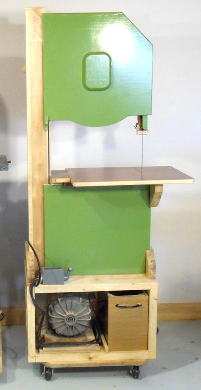 how to build a bandsaw stand