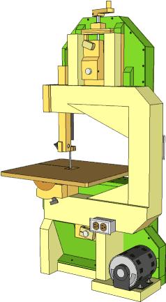 Homemade Bandsaw Version 2 Build