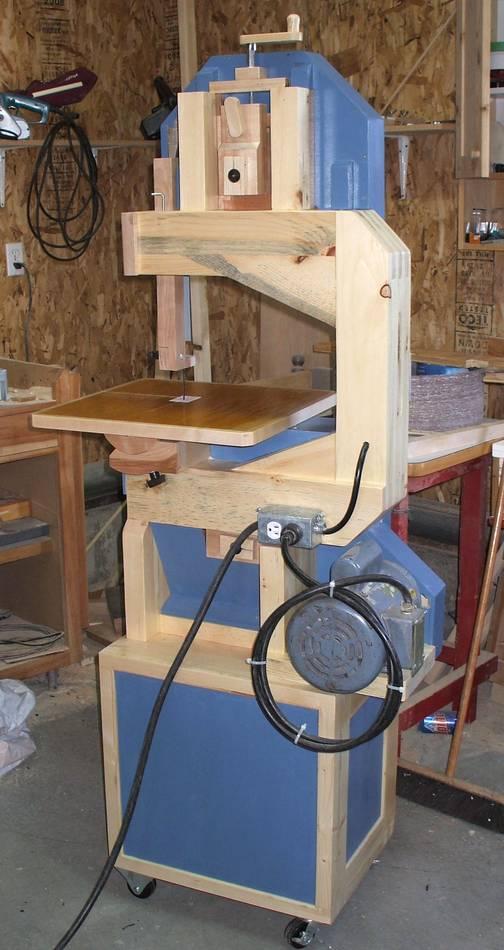 Fernand Robichaud S Wooden Bandsaw