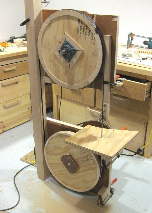 Building A Bandsaw Making The Frame