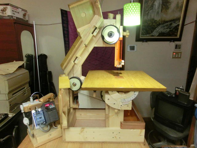 Mikiono S Three Wheeled Bandsaw