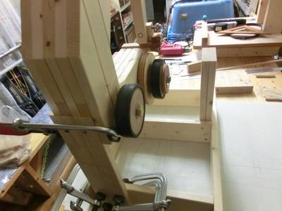 Mikiono S Three Wheeled Bandsaw