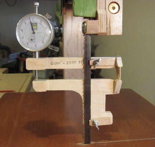 Bandsaw Tensioning