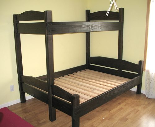Twin Over Double Bunk Bed Plans Free