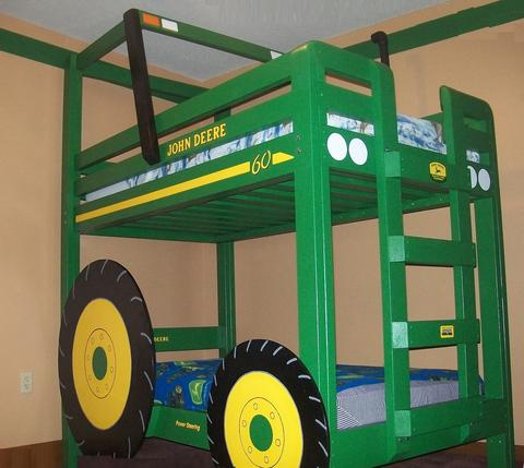 Shaun Bennett S Tractor Bunk Bed