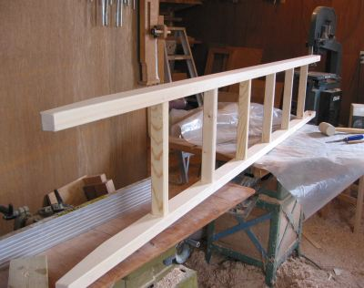 Ladder For The Bed Loft