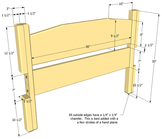 What Are The Measurements Of A King Size Bed Headboard