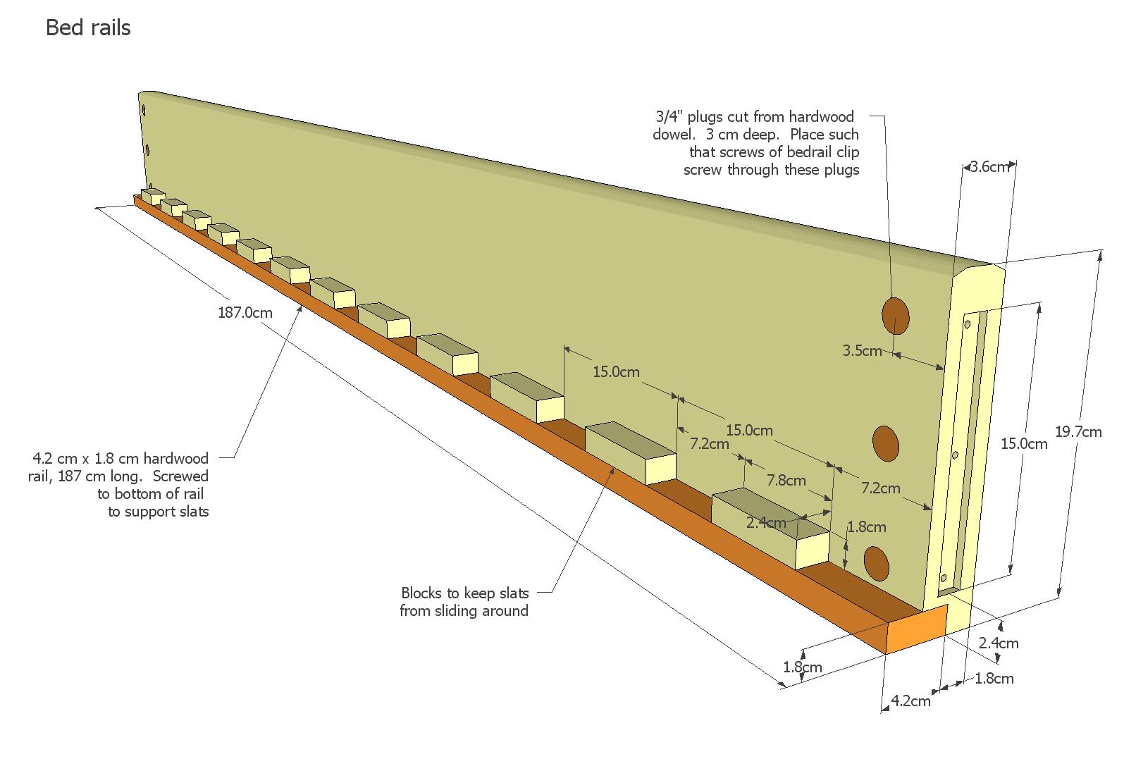 bed rail plans
