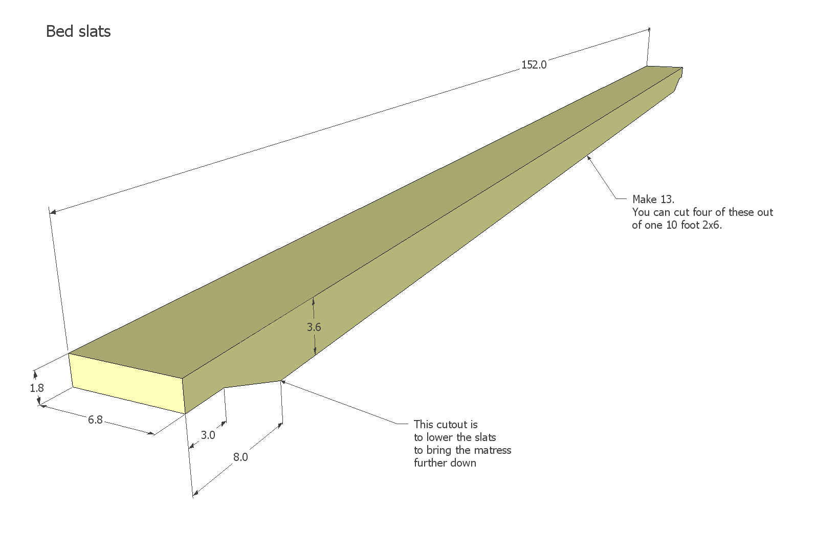 This view shows how the bed rail clips fit into everything. The bed ...