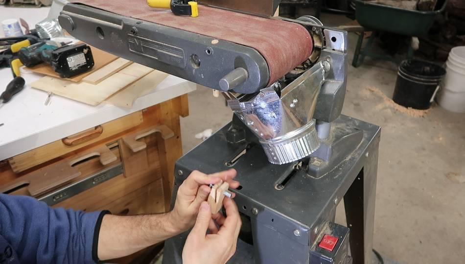 Adding Dust Collection The Belt Sander