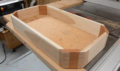 Octagonal Box With 45 176 Box Joints