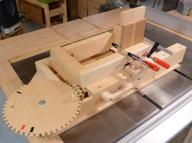 Table Saw Box Joint Jig Plans Car Interior Design