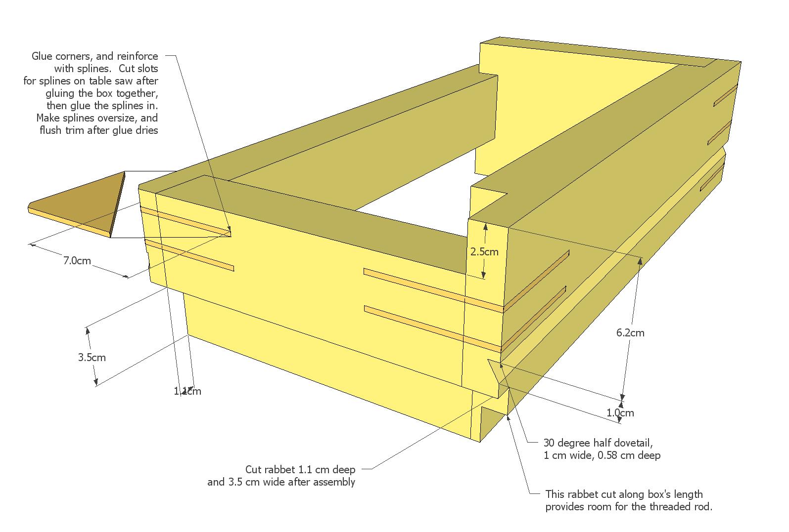 DIY Wood Design: Woodworking plans sketchup