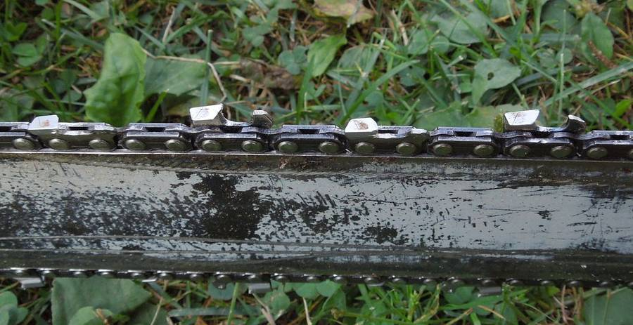 how to fix a chainsaw chain from wounds