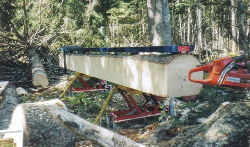 Chainsaw Milling On Location