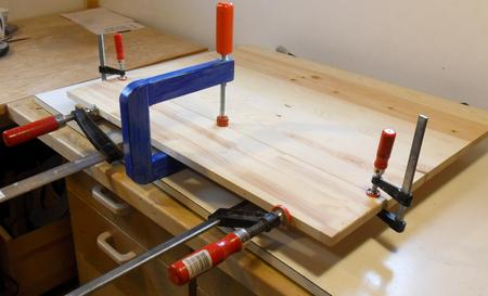 Long Reach Wooden C Clamps