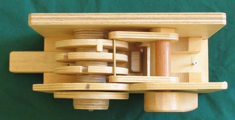 wooden combination lock. Black Bedroom Furniture Sets. Home Design Ideas