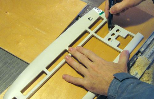 big challenge with making a wooden case is to cut a nice bezel for ...