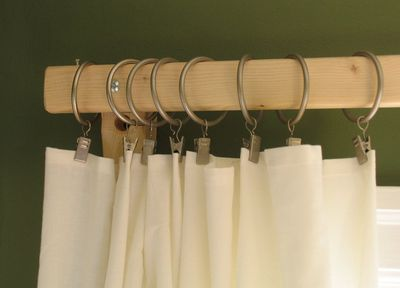 DIY Wooden Mission-Style Curtain Rods | eHow