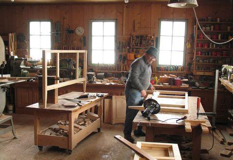 My dad's workshop continued
