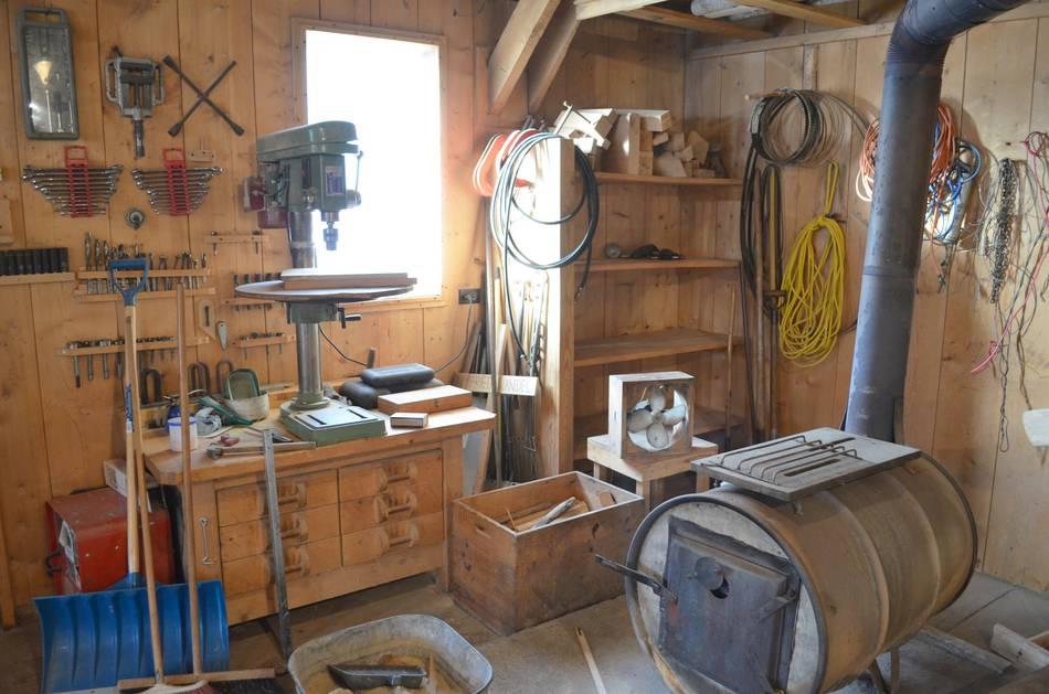garage workbench design ideas - Touring dad s workshop 2013