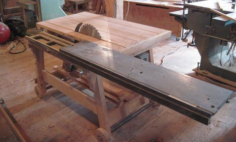 Dad's homemade table saw