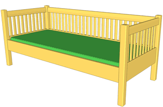2X4 Bed Frame Plans http://woodgears.ca/daybed/build.html