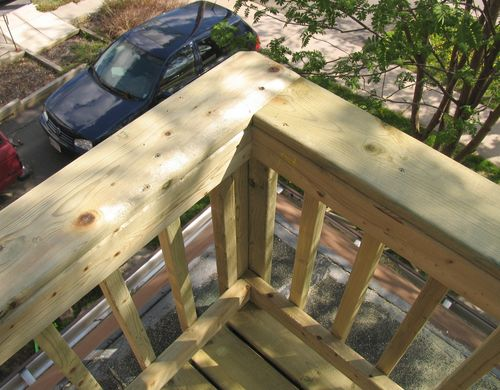 Construyendo Una Terraza De Madera