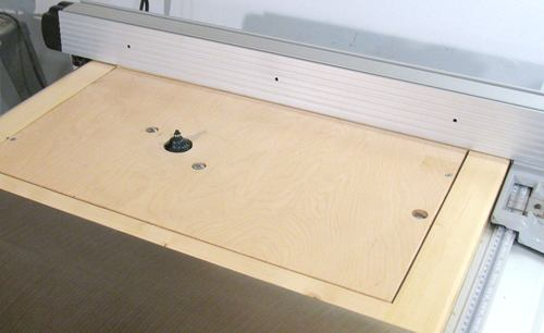 Router table for the table saw greentooth Gallery