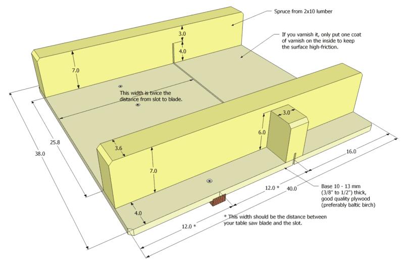 Small Table Saw Sled Plans Pdf 5