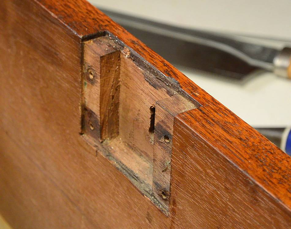 Trash to treasure antique desk drawers