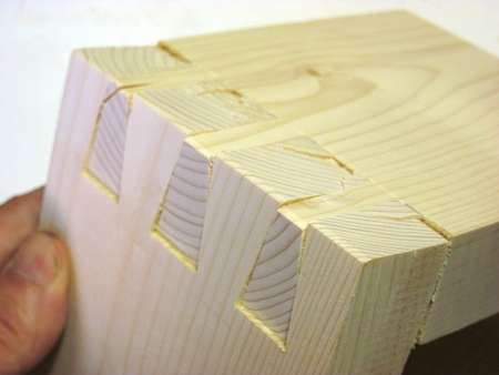 dovetail notching dovetail vs box joint strength