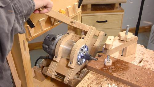 dovetail router bits. i hogged out most of the material using a 1/2\ dovetail router bits 1