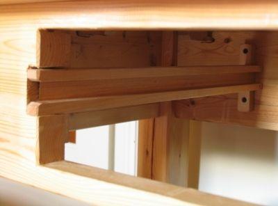Canal para deslizar las guías laterales del cajón, enredandonogaraxe.com