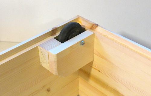 Cajones para almacenaje bajo cama for Cajas bajo cama carrefour