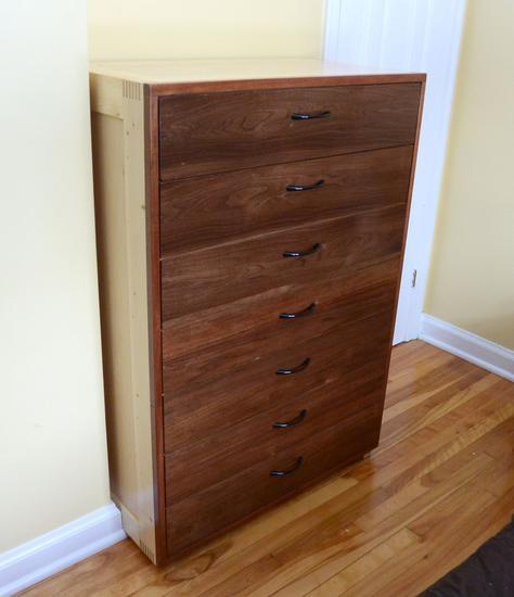 Seven Drawer Dresser Build