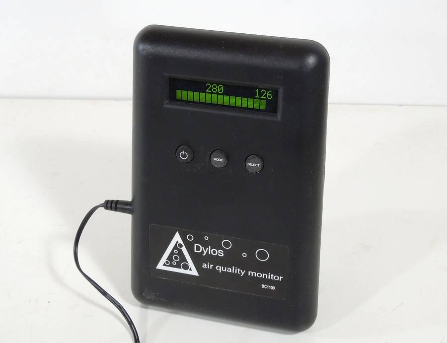 Measuring Dust With A Dylos Air Quality Monitor