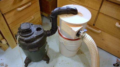 Sawdust Blower System : Building a dust collector blower