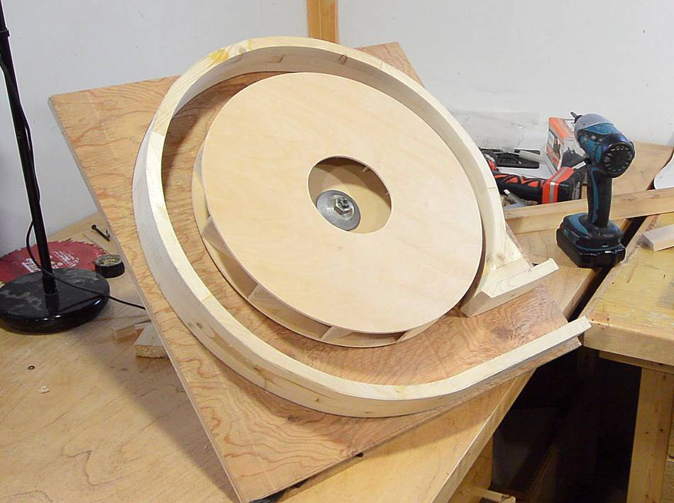 Dust Collector Blower : Building a dust collector blower