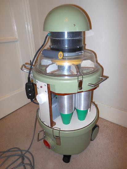 Maciej multi-cyclone vacuum cleaner build
