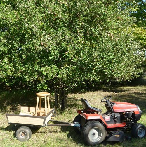 Lawn Tractor Trailer