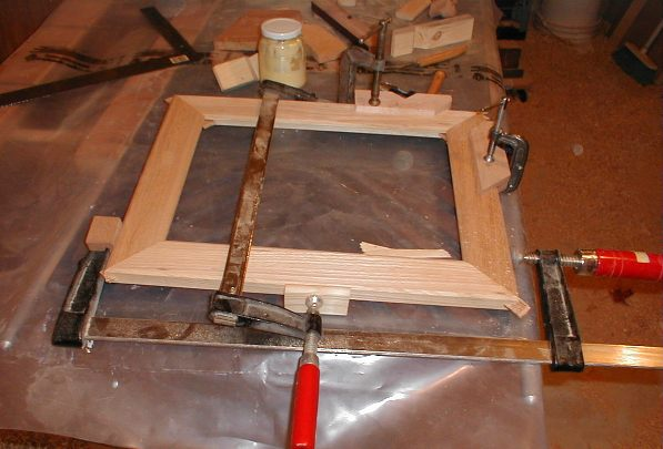 Gluing Picture Frame Miters