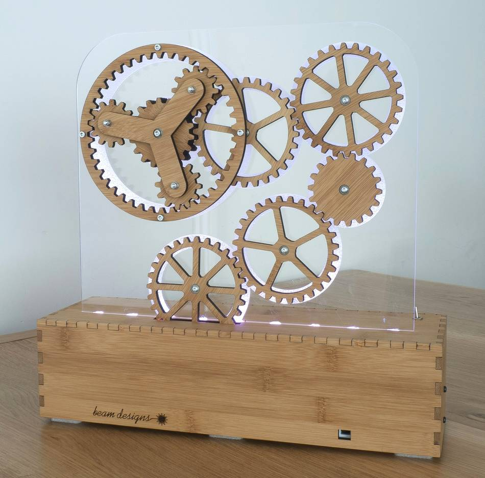 Gears Used In Toys : Laser cutting wooden gears