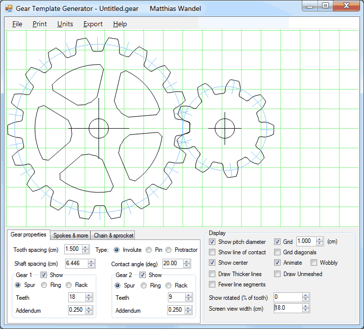 picture about Free Printable Gear Template named Machines template generator software