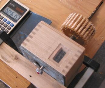 Wooden gear cutting jig gear cutting jig in action cutting gears with tablesaw greentooth Image collections